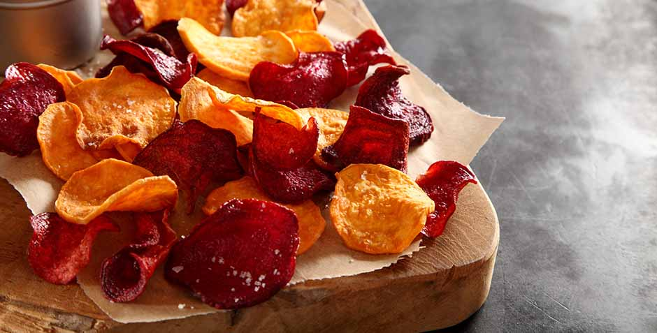 potato chips red and sweet