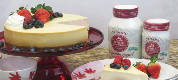 White Mountain Foods Yogurt Cheesecake Recipe