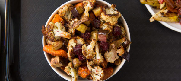Mixed roasted vegetables